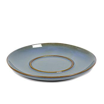 Anita Legrelle small plate for cup - Smokey blue